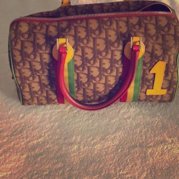 f543fdf79f2a Christian Dior Handbags - Christian Dior Limited Rasta edition boston bag!